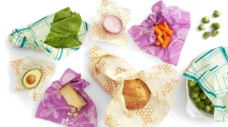 Bee's Wrap is washable and reusable muslin cloth
