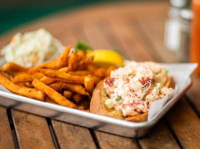 The lobster roll on May 17, 2019 at