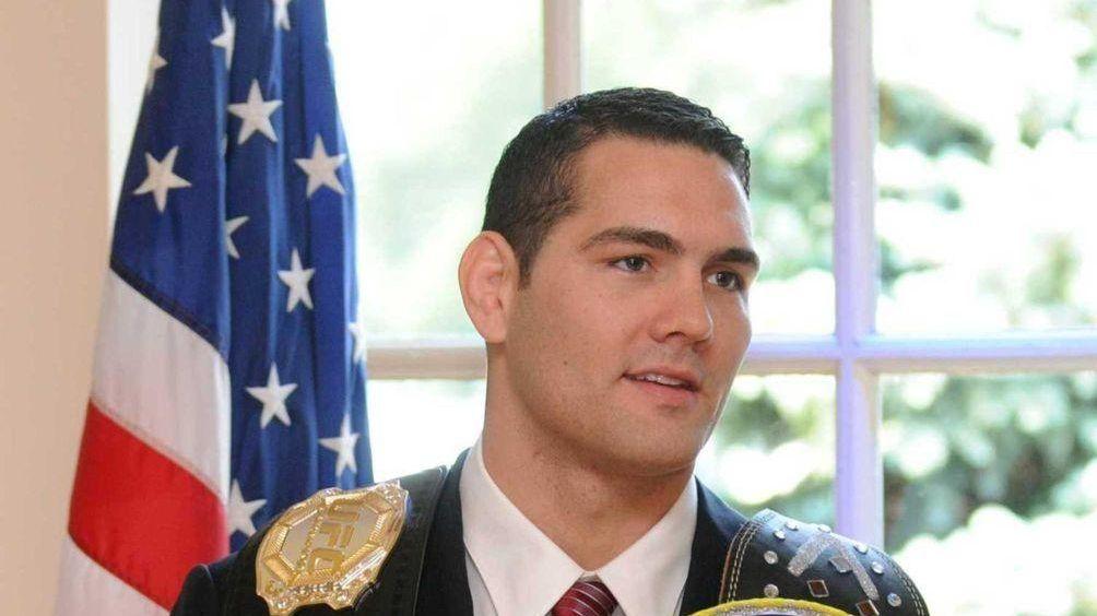 UFC middleweight champion Chris Weidman of Baldwin was