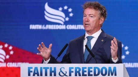 Sen. Rand Paul (R-Ky.) on June 27.