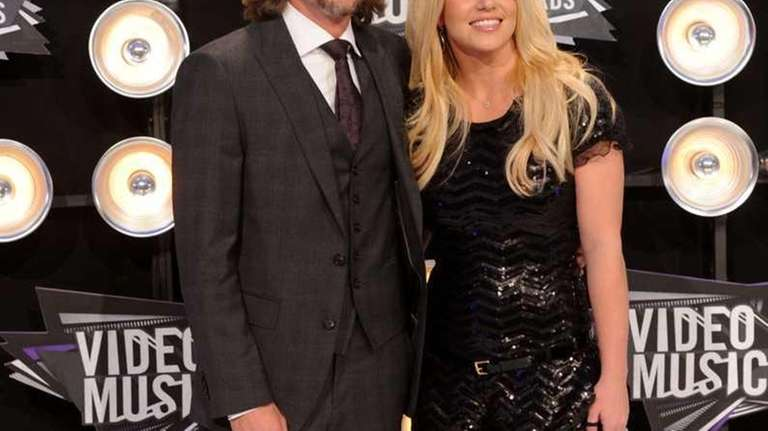 Singer Britney Spears and Jason Trawick arrive at