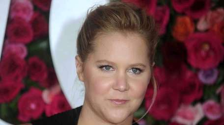 Amy Schumer attends the Tony Awards in Manhattan