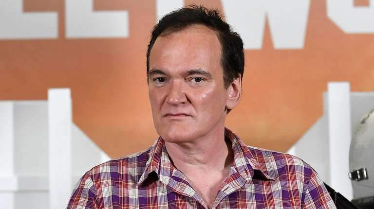 "Quentin Tarantino at the photo call for ""Once"