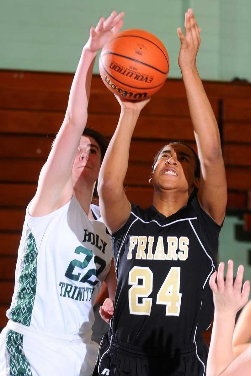 St. Anthony's High School center #24 Symone Kelly,