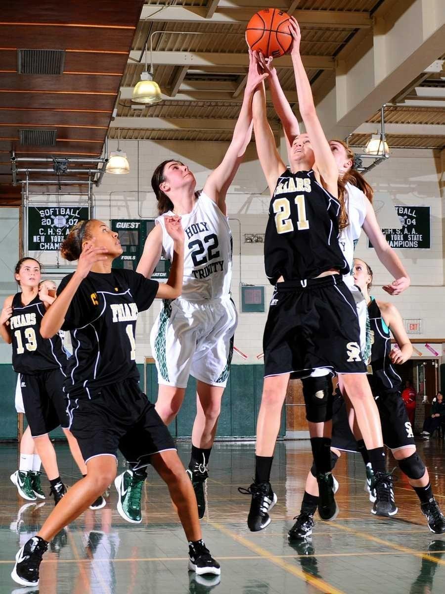 Holy Trinity High School #22 Alyson Brennan and