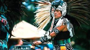 The Paumanauke Pow Wow, an American Indian celebration