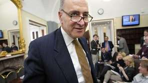 Sen. Charles Schumer on Capitol Hill. (Dec. 17,
