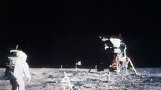 Astronaut Edwin E. Aldrin Jr., lunar module pilot,