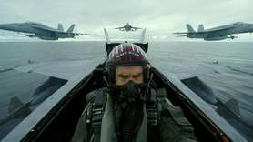 Tom Cruise reprises his role as Maverick, a