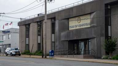 Hempstead Town offices at 200 N. Franklin St.