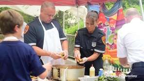 Top chefs, including Suffolk County Police Officer Brett