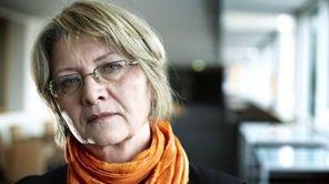 Journalist Eva Gabrielsson, pictured in Stockholm, Sweden, on