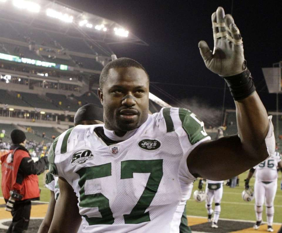 BART SCOTT, New York Jets Leading up to