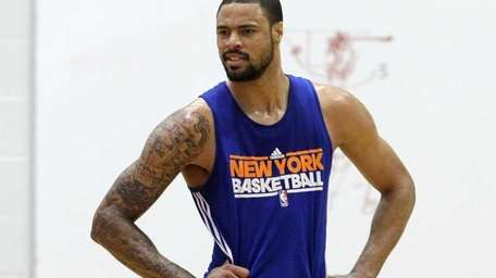 Tyson Chandler of the New York Knicks during