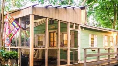This 600-square-foot Baiting Hollow home includes two bedrooms