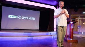 """Jeopardy'' TV show host Alex Trebek leads a"