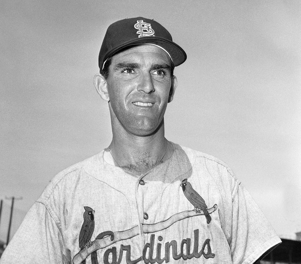 Ernie Broglio, a 21-game winner in 1960 who