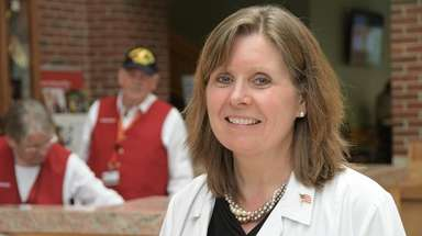 Interim Northport VA Medical Center Director Cathy Cruise