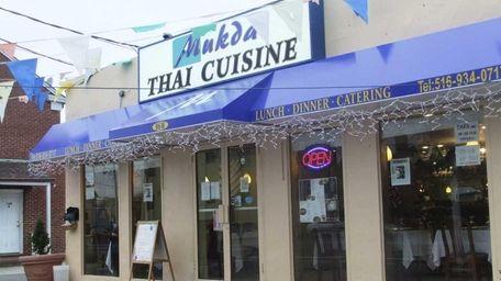The new Mukda Thai Cuisine in Hicksville. (December,