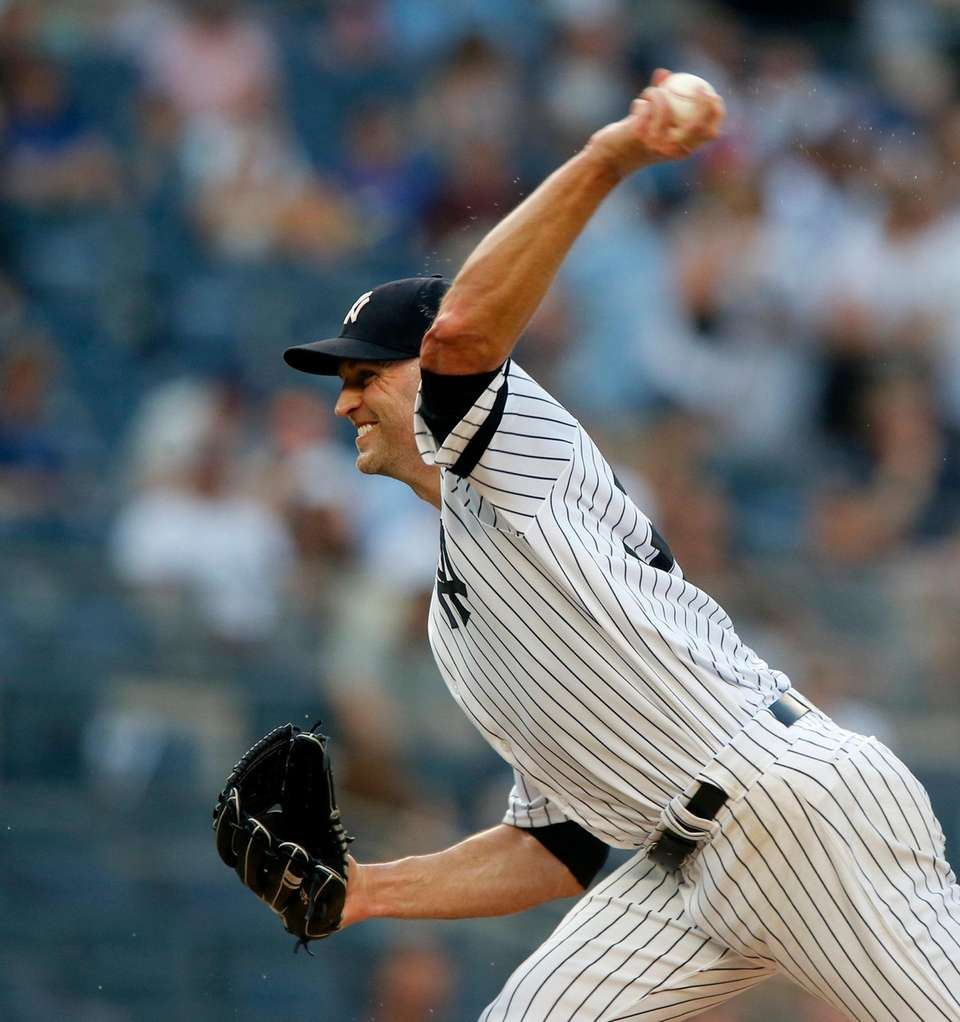 J.A. Happ #34 of the New York Yankees