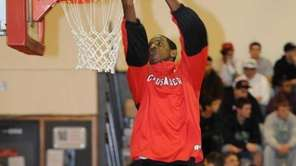 DKentan Facey of Long Island Lutheran Boys High
