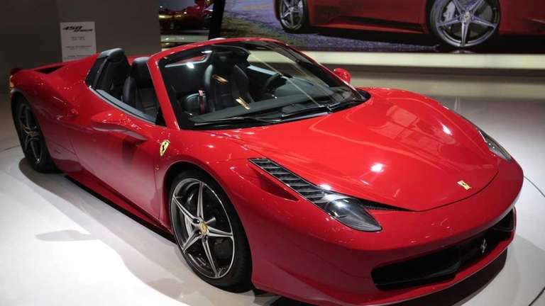 Ferrari 458 Spider A Top Down Top Rung Sports Car Newsday