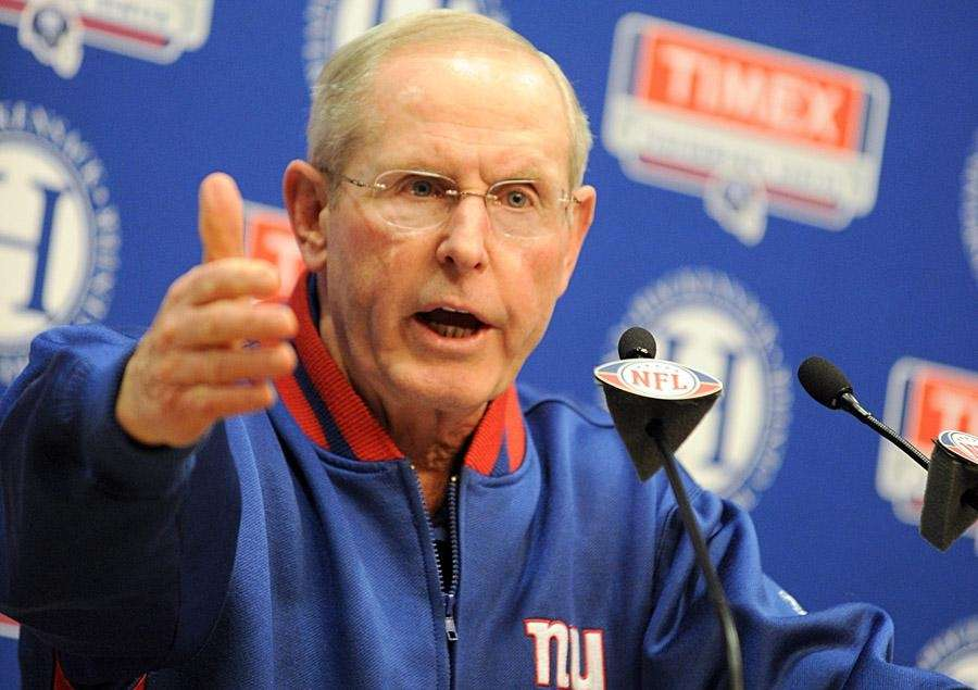 TOM COUGHLIN Giants head coach