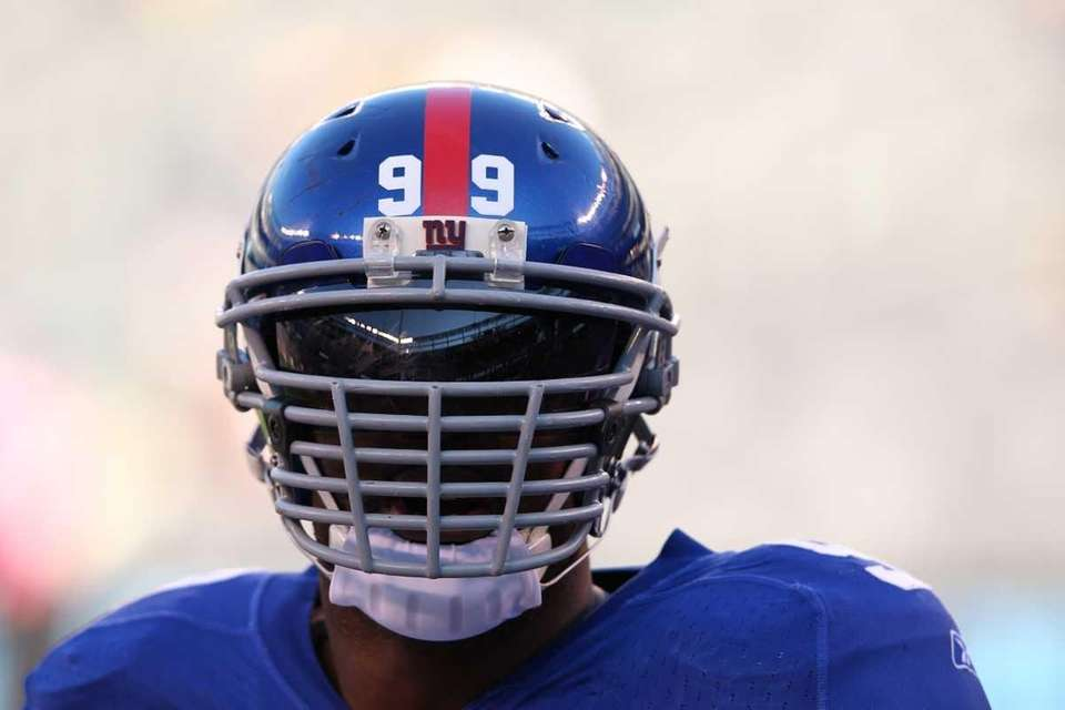 CHRIS CANTY Giants defensive tackle
