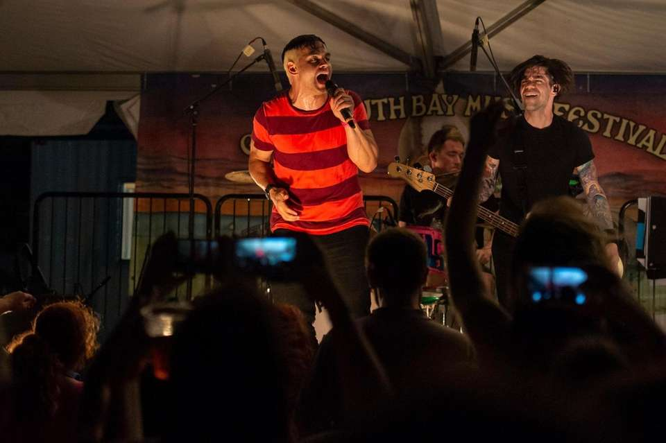 Patent Pending performs at the Great South Bay