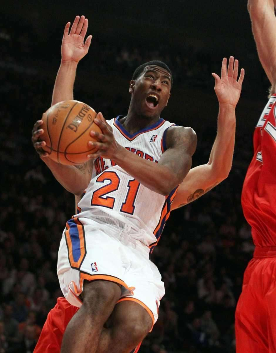 Iman Shumpert #21 of the New York Knicks