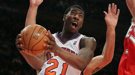 Iman Shumpert #21 of the New York Knicks