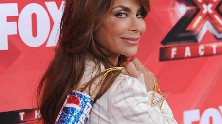 Judge Paula Abdul poses at The X Factor