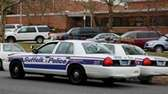 A file photo of Suffolk police cars in