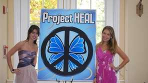 Liana Rosenman, of Commack, and Kristina Saffran, of
