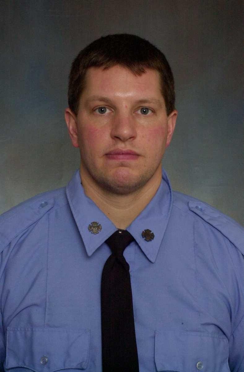 New York City firefighter Robert Wiedmann.