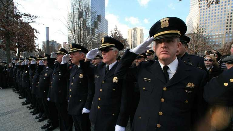 First responders from Nassau County attend the first