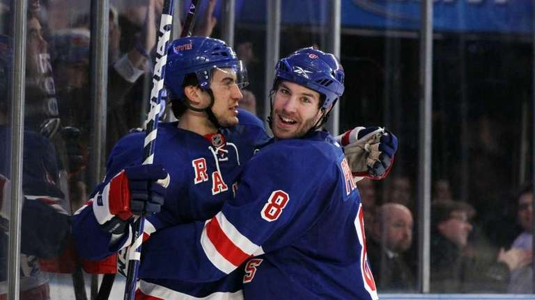 Michael Del Zotto #4 of the New York