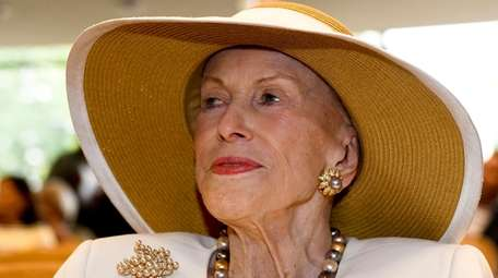 Marylou Whitney is seen at the National Museum