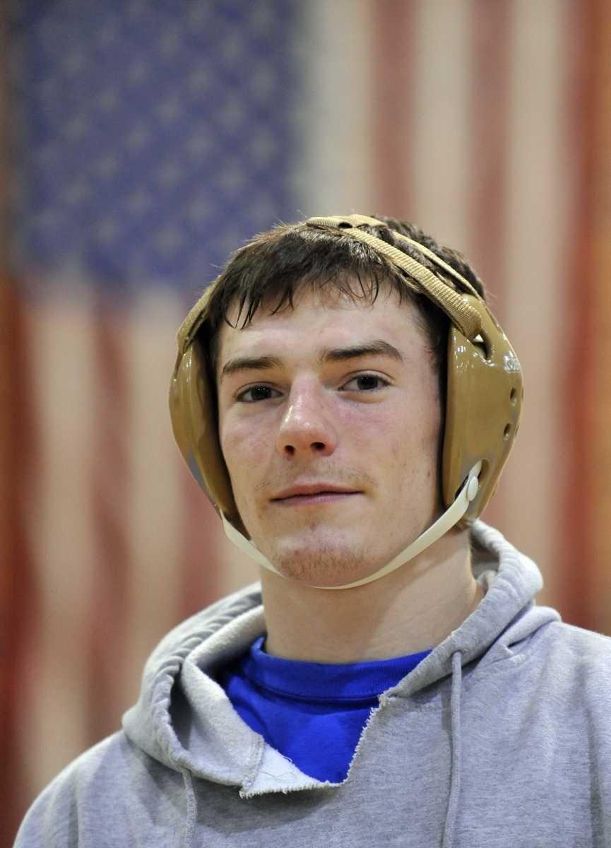 Hauppauge wrestler Nick Mauriello. (Dec. 21, 2011)