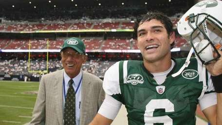 Quarterback Mark Sanchez of the New York Jets