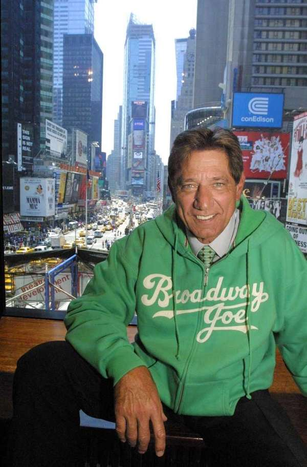 With New York's Times Square as a backdrop,