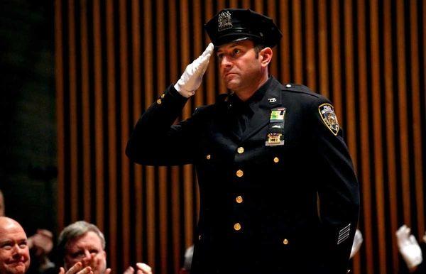 NYPD Detective Glenn Estrada, partner of slain NYC