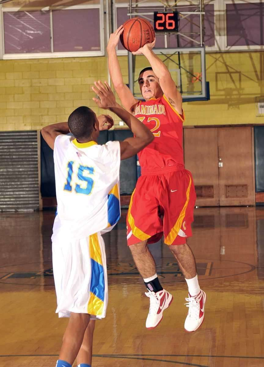 Chaminade's #32 John Galleso attempts a jump shot