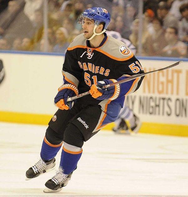 Frans Nielsen of the New York Islanders scored