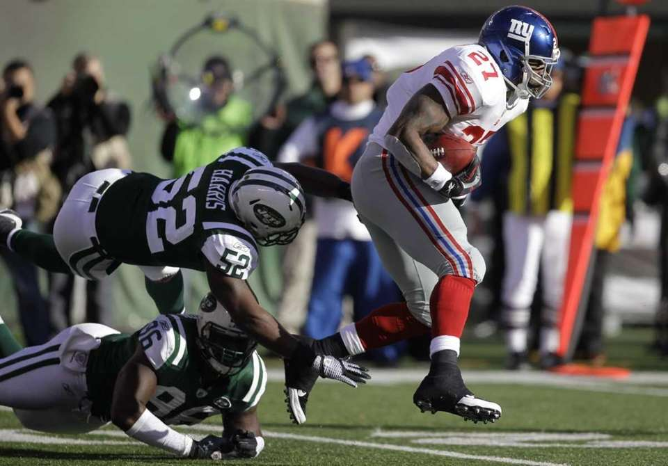 BRANDON JACOBS, Giants running back Following the Giants'