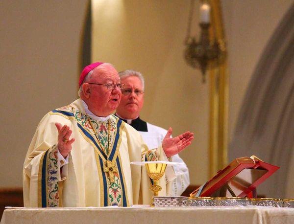 Bishop William Murphy celebrates Christmas Mass at St.