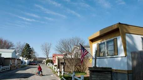 The Frontier Park mobile home park in North