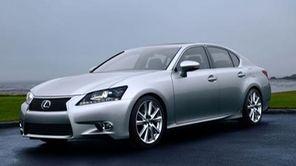 The 2013 line of Lexus GS sedans, including
