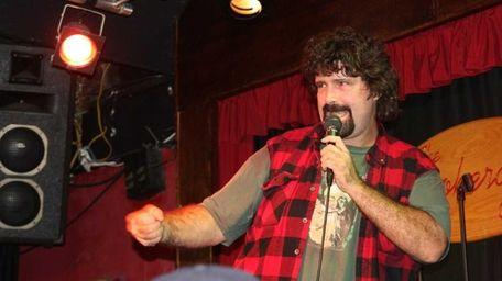 Setauket native and WWE Superstar Mick Foley performs