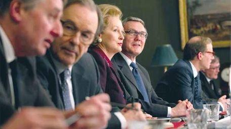Meryl Streep in the 'The Iron Lady'